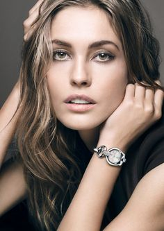 gucci 2014 watches jewelry2 Nadja Bender Fronts Gucci 2014 Watches & Jewelry Campaign