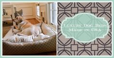 Luxury Dog Beds from Jax and Bones | 3 Shades of Dog - Made in the USA