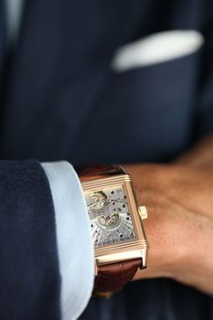 classy-  the other side of a Reverso - Jaeger-LeCoultre