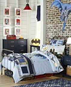 Batman room...comic book frames