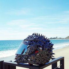 Crystal Helmet. Photo by bikerdeee on IG