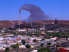 Mt Isa, Australia- Largest copper lead and zinc mine in world.