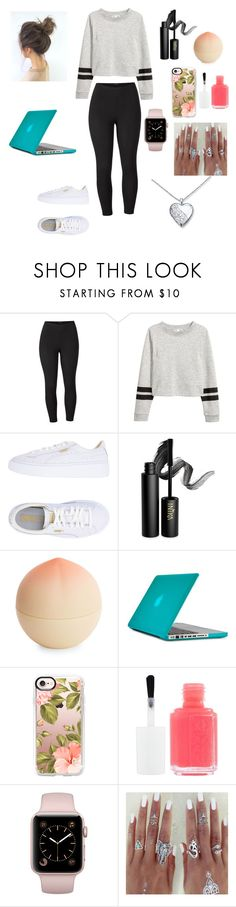 """""""Sunday funday"""" by lyndseymae ❤ liked on Polyvore featuring Venus, Puma, INIKA, Tony Moly, Speck, Casetify, Essie and plus size clothing"""