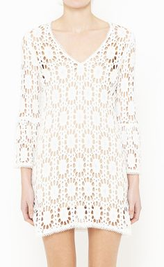Milly White Dress works both for casual chic or cocktails
