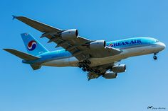 Customer acceptance flight Airbus A380 Korean Airlines F-WWAT HL7628