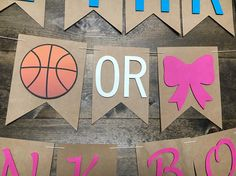 Free Throws or Pink Bows Buckets or Bows Gender Reveal Basketball Gender Reveal, Gender Reveal Banner, Gender Reveal Decorations, Baby Quotes, Son Quotes, Family Quotes, Girl Quotes, Dad Birthday Quotes, Baby Gender