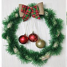Diy Christmas Decorations Easy, Christmas Crafts For Kids, Xmas Crafts, Diy Christmas Ornaments, Christmas Projects, Diy Christmas Wreaths, Christmas Ideas, Simple Christmas, Christmas Nails
