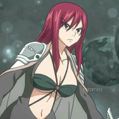 Jerza, Fairytail, Fairy Tail Erza Scarlet, Fairy Tail Anime, Anime Demon, Girl Cartoon, Fairy Tales, Cute, Pictures