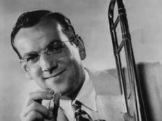 Bandleader, Glenn Miller - (March 1904 – December 1944 - missing in action) - Birth name: Alton Glenn Miller - Birth place: Clarinda, Iowa - Place of death: English Channel Glenn Miller, Jazz, Swing Era, The Glenn, Rhapsody In Blue, English Channel, Thing 1, Before Us, The Dreamers