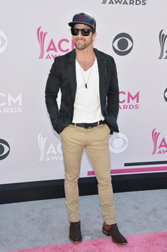 Kip Moore attends the Academy Of Country Music Awards in Las Vegas on April - John Shearer /WireImage American Country Music Awards, Academy Of Country Music, Country Musicians, Country Singers, Hot Country Boys, Jessie James, Awards 2017, Red Carpet Looks, Las Vegas