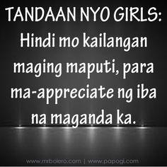 Tagalog Love Quotes - May Nagugustuhan ka ba ngayon? Tagalog Words, Pinoy Quotes, Tagalog Love Quotes, Qoutes About Love, Love Quotes For Her, Quotes For Him, Hugot Lines Tagalog Funny, Love Qutoes, Patama Quotes