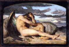 The Athenaeum - Fallen Angel (study) (Alexandre Cabanel - )