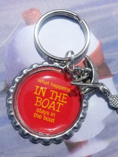 What Happens In The Boat Stays In The Boat RED by tracikennedy, $6.00