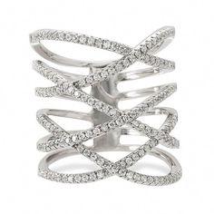 Princess Kylie 925 Sterling Silver Three Stripes Bali Designer Style Ring