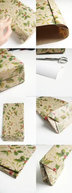 DIY handmade gift bag by Ghirlanda di Popcorn