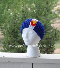 Colorado Headband Ear Warmer Crochet pattern