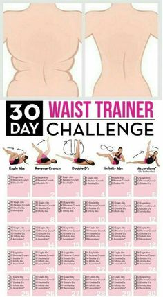 Waist workout from home | Calendar | Goodbye muffin top