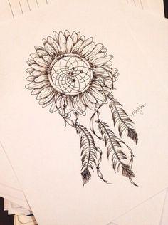New tattoo sunflower dreamcatcher ideas Full Sleeve Tattoo Design, Leg Sleeve Tattoo, Tribal Sleeve Tattoos, Forearm Tattoos, Chest Tattoo, Cute Tattoos, Tattoos For Guys, Tattoos For Women, Tatoos