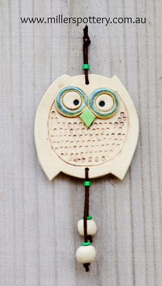 Australian handmade ceramic owl by www.millerspottery.com