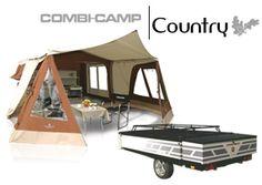 Combi-Camp Country vouwwagen  vouwwagens