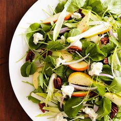 Pear and Gorgonzola Salad Recipe - Redbook