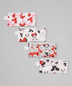Look what I found on #zulily! Disney Baby Minnie Mouse Small Reusable Snack Bag Set #zulilyfinds