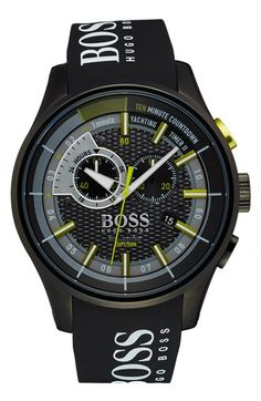 BOSS 'Yachting Timer II' Watch, 45mm available at #Nordstrom
