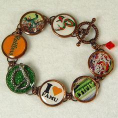FAMU Bracelet Pennies From Heaven by Catbangles by catbangles, $29.00