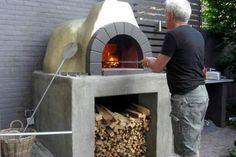 Golden Fornino pizza oven aka pizzaoven