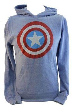 Captain America Hoodie. I need this.