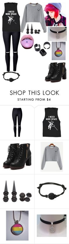 """""""i miss my boyfriend"""" by teal-lerker ❤ liked on Polyvore featuring ...Lost"""
