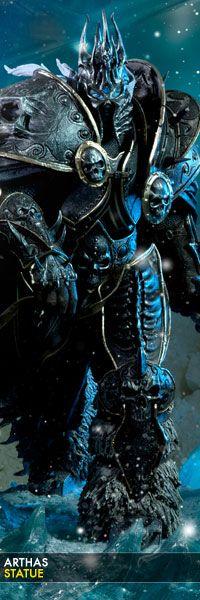 Arthas Statue - World of Warcraft
