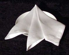 Napkin Folding Tutorial - The French Napkin Fold