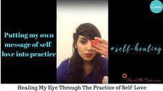 How I Healed My Eye by turning inwards. Cookie Videos, Spiritual Wellness, Self Love, My Eyes, Turning, Spirituality, Healing, Messages, Self Esteem