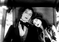 Buster Keaton and Natalie Talmadge in One Week.
