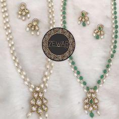 Pick your style - Pearls or Emeralds   Send us a message or alternatively Whatsapp 60166809540 for enquiries.  #zewarbymk #indianweddings #indianbrides #pakistaniweddings #pakistanibrides #sikhweddings #sikhbrides #walima #allthingsbridal #indianfashionweek #maharaniweddings #maharanidiaries #mangtikka #mathapatti #polkijewellery #kundanjewellery #chandbali #bridaljewellery #indianbridaljewellery #kundanmeena #asianbridesblog #dulhaniamag #pearlsmalaysia #culturedpearls by zewarbymk
