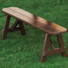 Amish Living Traditional Wood Bench