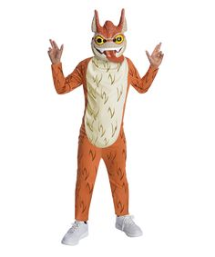 Orange & Cream Trigger Happy Dress-Up Set - Kids