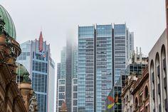 Photos taken in Sydney CBD on a rainy day
