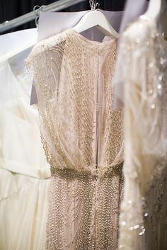 Bridal Fashion Week: Jenny Packham!  Read more - http://www.stylemepretty.com/2013/10/30/bridal-fashion-week-jenny-packham/