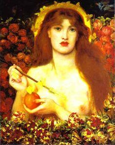Dante Gabriel Rossetti. Venus Verticordia.