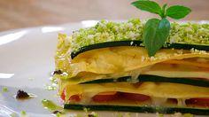 Torres en la cocina - Receta de lasaña de verduras y queso de cabra