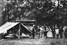 A Civil War Hospital -- Even after grueling successful surgeries, many soldiers from both sides succumbed to disease. Dysentery was one of the biggest killers to troops.