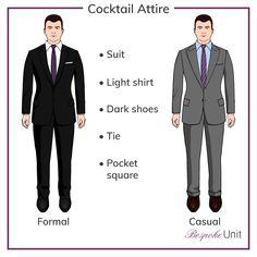 cc94ca0281 Men s Cocktail Attire Dress Code Outfit Inspiration Lookbook