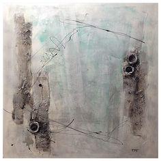 Arte Contemporáneo. Acrílico + Texturas. 110x110.