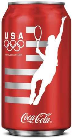 Coca-Cola Reveals Limited-Edition London Olympic Cans For Team USA - DesignTAXI.com