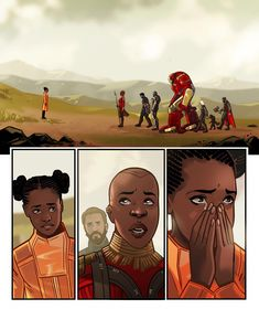 The Avengers having to tell Shuri that her big brother, King of Wakanda/Black Panther is gone its cool i didn't need my heart anyway and now we know she was snapped away as well.at lest they died together Marvel Comics, Memes Marvel, Marvel Avengers, Deadpool Comics, Loki Thor, Wattpad, Film Serie, Spiderman, Joker Batman