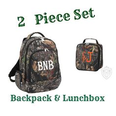 Monogrammed Backpack  Boys Backpack  Monogram by MaBrownMercantile