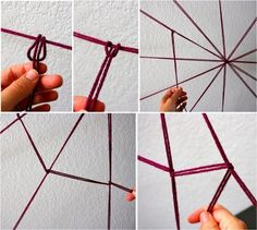 spinnennetz aufbau konstruktion ideen modern deko halloween feirtag