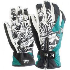 XS Rome Women's Girl's Snowboard Winter Gloves (5)